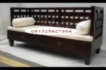 Bangko (Bale-Bale) Minimalis Jati Kepang Size 80x200Cm