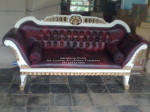 Furniture Jati Sofa Ukir Barcelona