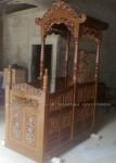 Mimbar Masjid Jati Ukiran Jepara 001