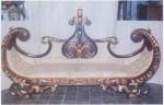 Sofa Jati Ukiran Jepara Type Perahu