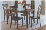 Kursi Meja Makan Minimalis Jati Marina 1 Set 4 dudukan