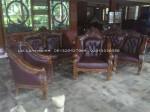 Kursi Tamu Monaco Ganesa Jambu Kayu Jati Ukiran Jepara 3211