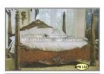 Dipan Jati tempat tidur Monalisa Kayu Jati Ukiran Jepara Size 180x200Cm