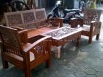 Kursi Tamu Jepara Minimalis Kayu Jati Type Ukir Bambu Set 211