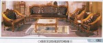Kursi Tamu Ganesa Monaco Selendang Jumbo Royal Set Kursi 4211