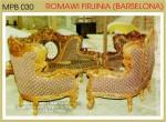 Set Kursi Tamu Romawi Firjinia Barcelona Mpb 030 Set Kursi 3211 Jati Jepara