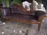 Sofa, Kursi Lois Angsa Ukiran Kayu Jati Jepara