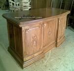 meja kantor salina ukiran kayu jati jepara