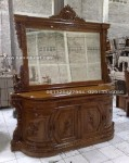 meja rias bufet cermin ukir kayu jati jepara Paluna lengkung