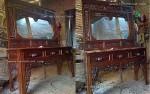 tolet meja rias cermin altar ukiran kayu jati jepara