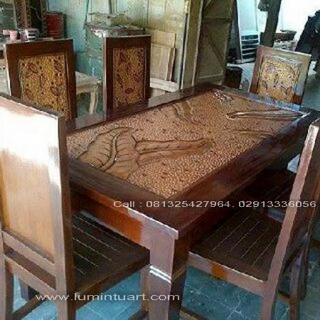 kursi,meja,makan,kayu,jati,minimalis,jepara,daun,set,6,kursi,murah,kwalitas,jual,mebel,furniture,rumah