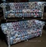 sofa kursi busa jok caister kancing minimalis